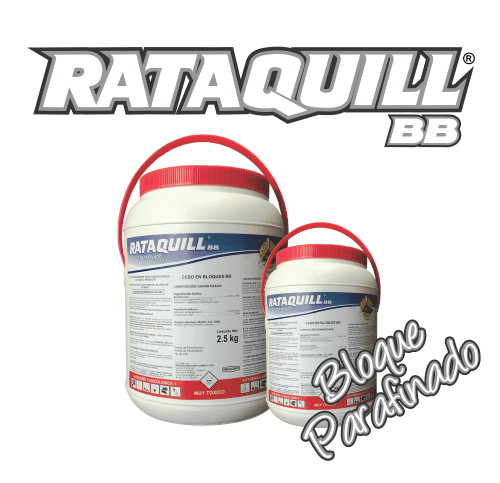 RatacidaenBloqueParafinadoRodentWaxBaitVenenoparaRatas