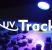 Efecto luminiscencia de UV Track