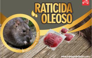 Rodenticida en pasta ratones en cocina